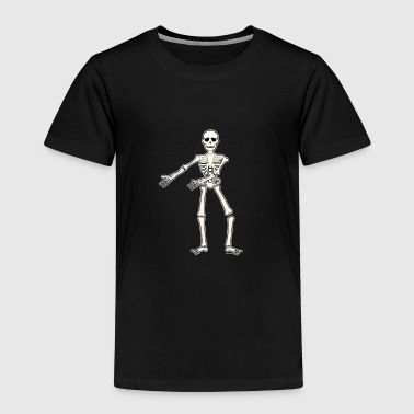 Floss Dance Move Skeleton - Kids' Premium T-Shirt