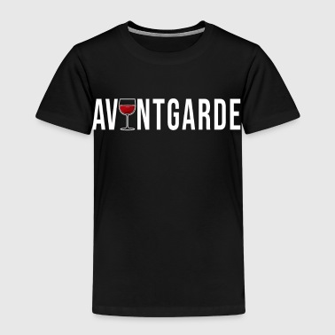Avant-garde wine simple cool gift idea - Kids' Premium T-Shirt