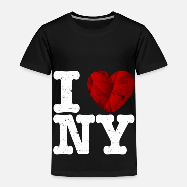 I Love New York I love New York, t-shirt - coeur d'amour cadeau - T-shirt Premium Enfant