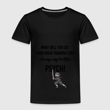 What do you want to use your ninja training for? - Kids' Premium T-Shirt