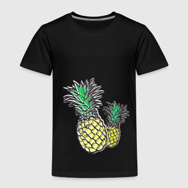 Pineapples Cuban - Kids' Premium T-Shirt