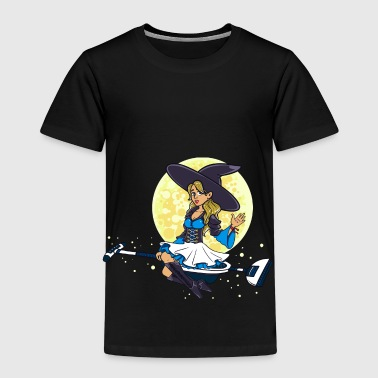 Witch cleaning company cleaning lady gift - Kids' Premium T-Shirt