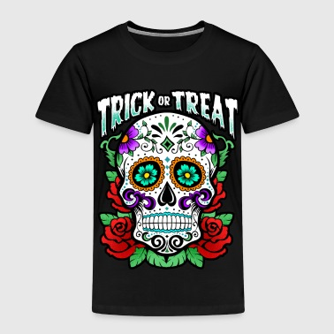 Trick Or Treat - Skull - Halloween - T-shirt Premium Enfant