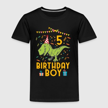 Birthday Boy - 5th birthday - Kids' Premium T-Shirt