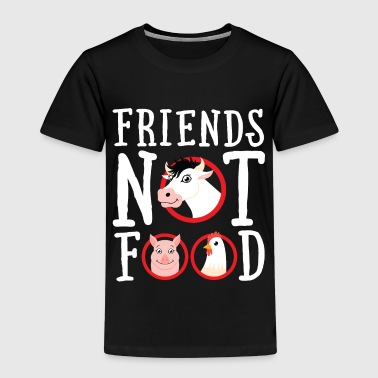 Friends Not Food Friends Not Food | Vegan Statement - Lasten premium t-paita