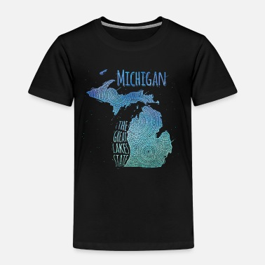 Michigan Michigan - Kinder Premium T-Shirt