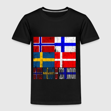 United Kingdom United Kingdom of Scandinavia - Kinderen Premium T-shirt