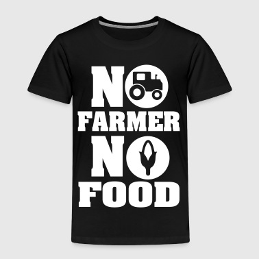 No farmer no food - Kinderen Premium T-shirt