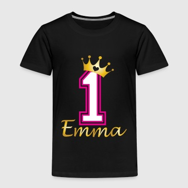 Babies first birthday Emma - Kids' Premium T-Shirt
