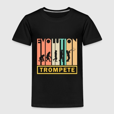 Marchingband Trumpet Shirt · Brass Music · Evolution - Kids' Premium T-Shirt