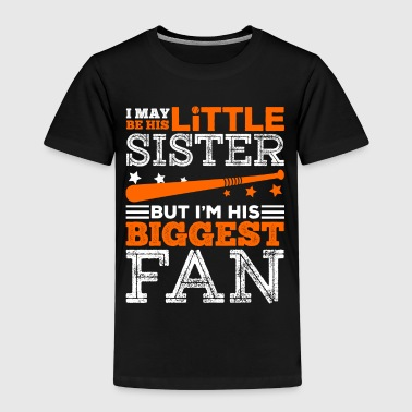 Little Sister And Biggest fan - Kids' Premium T-Shirt