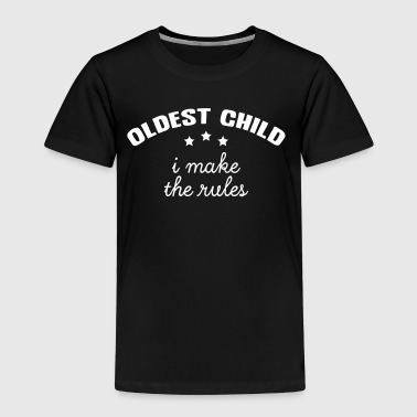 Oldest - Middle - Youngest Child (1/3) - Kinder Premium T-Shirt