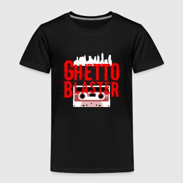 Ghetto Blaster - Premium T-skjorte for barn
