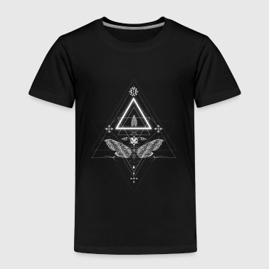 Moth in occult design - Kids' Premium T-Shirt