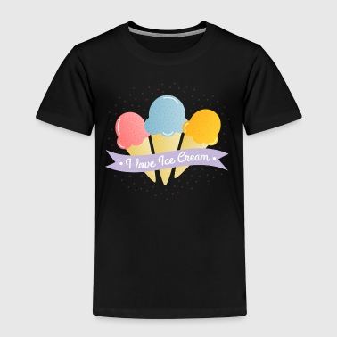 Scream Love Ice Cream - Kinder Premium T-Shirt