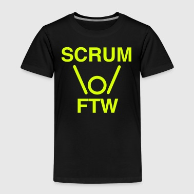 SCRUM FTW - scrum for the win - Kids' Premium T-Shirt
