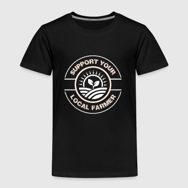 Support your local farmer - Premium T-skjorte for barn
