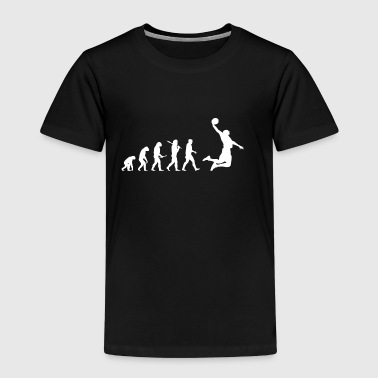 Evolution Basketball! Grappig! Dunk! - Kinderen Premium T-shirt