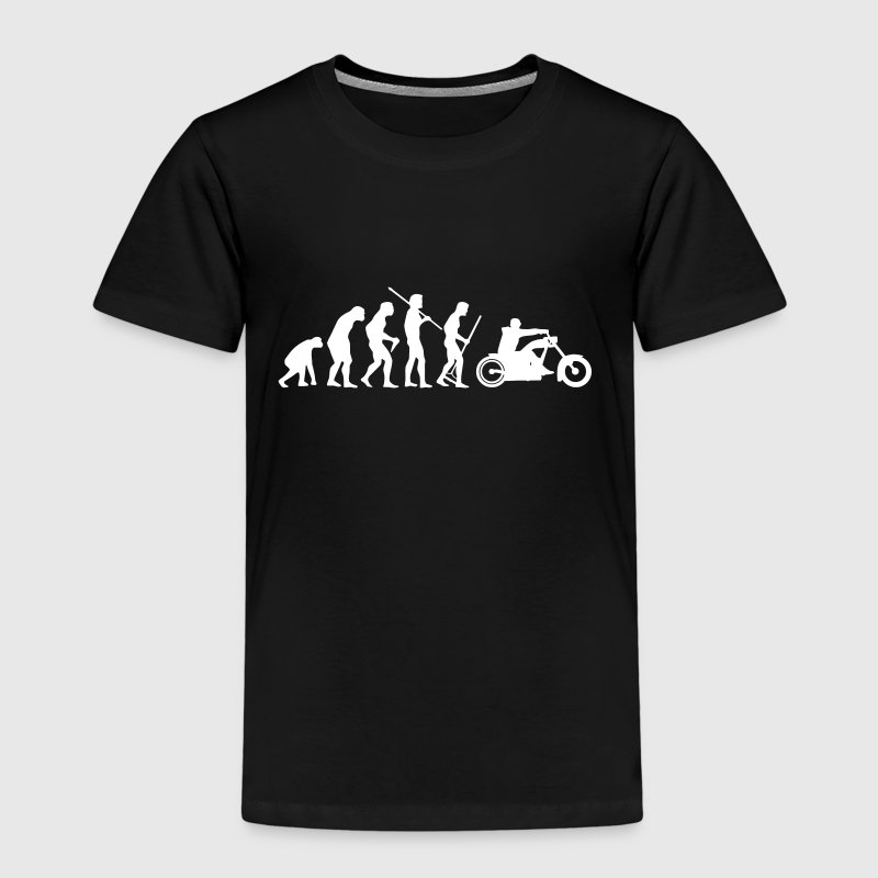 MOTORRAD EVOLUTION - Kinder Premium T-Shirt