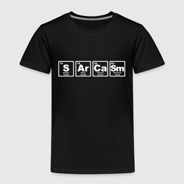 SARCASM PERIODIC TABLE - Camiseta premium niño