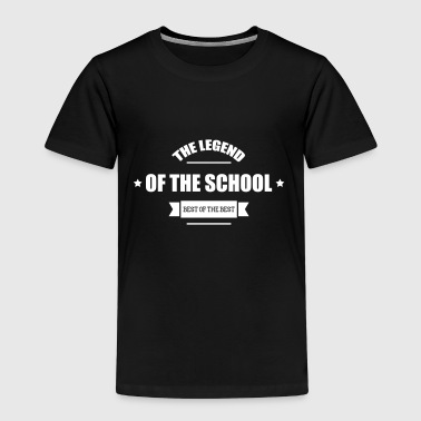 The Legend of the School - Børne premium T-shirt