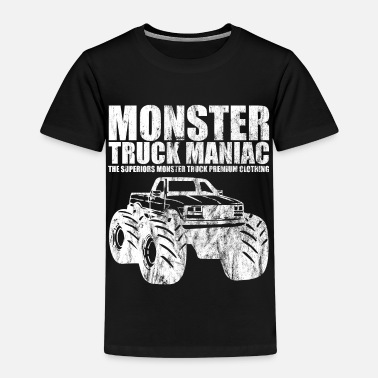 Monstertruck SUPERIEUREN ™ - monstertruck maniak - Shirt Design - Kinderen Premium T-shirt
