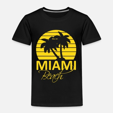 Miami Beach Kids 39 Premium T Shirt