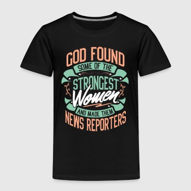 Report News reporter reporter profession gift - Kids' Premium T-Shirt