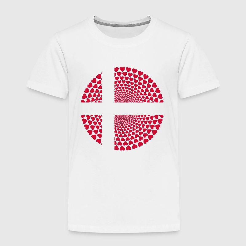 Denmark / Dänemark / Dammark Love HERZ Mandala von FAMORI   Spreadshirt