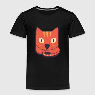 Cartoon kat - Kinderen Premium T-shirt