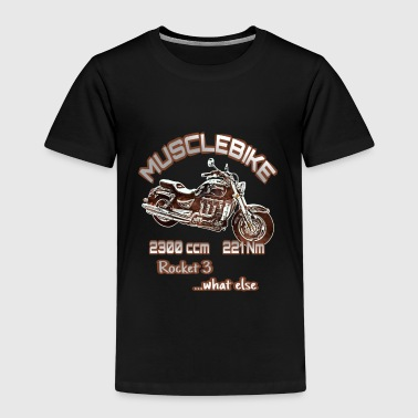 Rocket 3 Motorrad Rocket 3 Musclebike - Kinder Premium T-Shirt