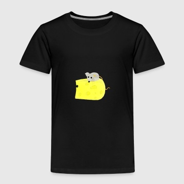 Mouse on Cheese / Mouse on Cheese - Kids' Premium T-Shirt
