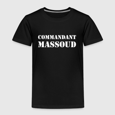 Commandant Massoud - T-shirt Premium Enfant