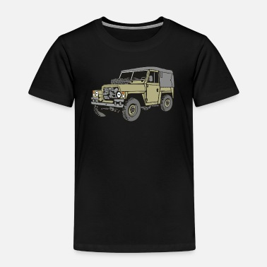 Land Rover Serie Land Rover Lightweight Light Weight 4x4 Offroad - Kinder Premium T-Shirt