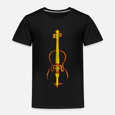 Cello Musikinstrumentcello - Premium-T-shirt barn