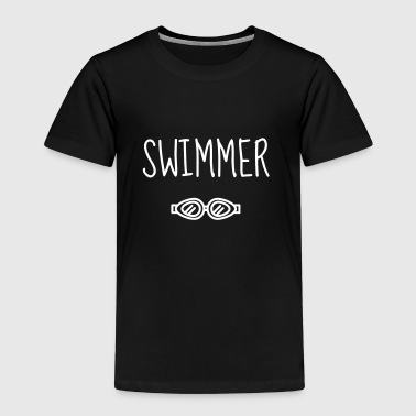 Swimming / Schwimmen / Natation / Swimmer - Kids' Premium T-Shirt