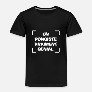Vêtements De Sport Vêtement Ping-pong Tennis de table / Pongiste / Ping-pong / Ping pong - T-shirt Premium Enfant