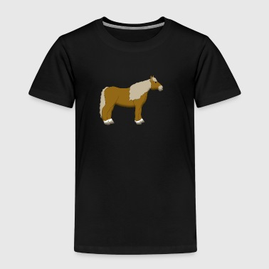 cold-blooded horse lightbrown - Kids' Premium T-Shirt