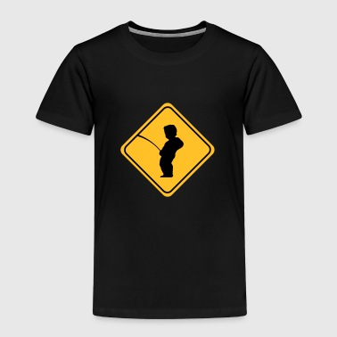Manneken Pis sign - T-shirt Premium Enfant