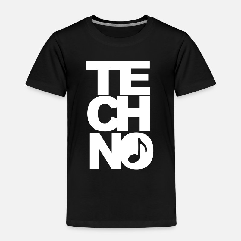 Techno T-shirts - techno - T-shirt premium Enfant noir