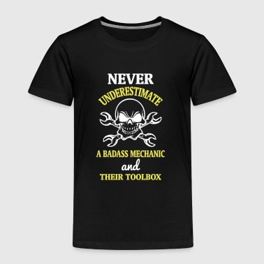 NEVER UNDERESTIMATE A MECHANIC TOOL - Kids' Premium T-Shirt