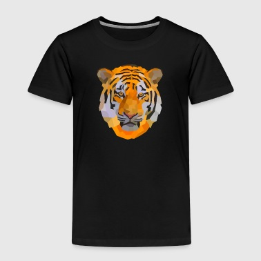 Tiger Style Tiger low-poly style - Kids' Premium T-Shirt