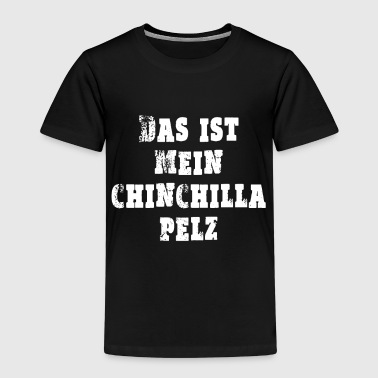 Chinchilla päls - Premium-T-shirt barn