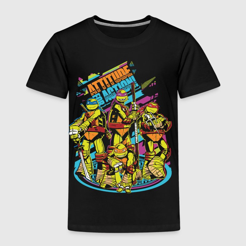 TMNT Turtles Attitude For Action - Lasten premium t-paita