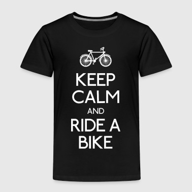 keep calm and ride a bike - Kids' Premium T-Shirt
