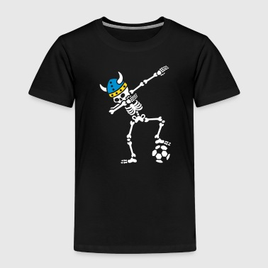 Sweden dab dabbing skeleton soccer football - T-shirt Premium Enfant