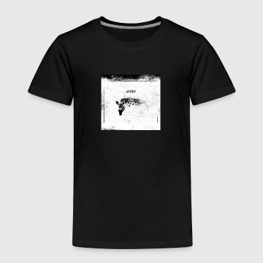 Hyena blackwhitecontest - Kinderen Premium T-shirt