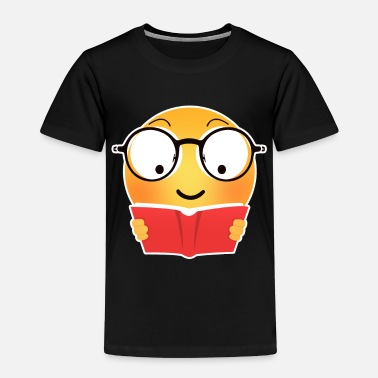 Emoji Emoji reading - Kids' Premium T-Shirt