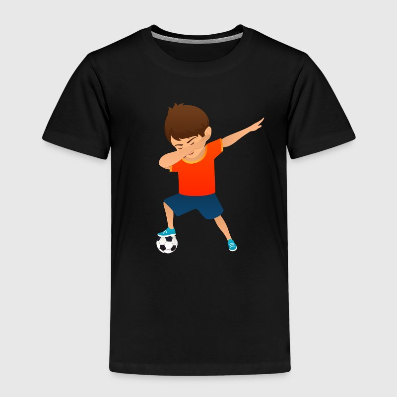 Soccer Boy Dab Dance - Kids' Premium T-Shirt