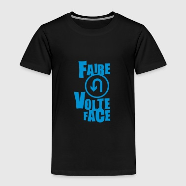 volte face expression - T-shirt Premium Enfant